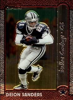 1999 Bowman Chrome Football Card #148 Deion Sanders