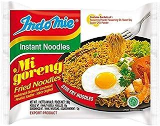 Indomie Mi Goreng Instant Stir Fry Noodles, Halal Certified, Original Flavor ( Pack Of 15),