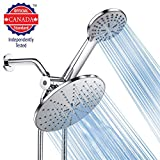 Shower Head, Arespark High Pressure Handheld Showerhead with Hose, 5 Settings Chrome Finished