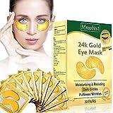 Augenpads,Eye Mask, 24k Gold Eye Patches, Anti aging Augenpads mit Hyaluron Augenpflege, Kollagen...