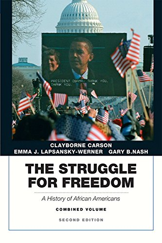 The Struggle for Freedom: A History of African Americans, Concise Edition, Combined Volume (Penguin Academic Series) (2n
