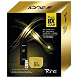 Tahe Magic Bx gold Pack para Cabello Seco Champú + Mascarilla + Tratamiento 610 ml