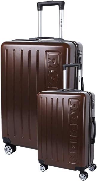 Bleu RODIER Set de 2 Valises Luggage Set 50 Centimeters Blue