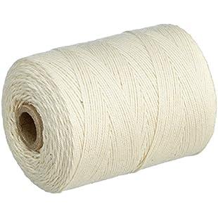Rayher white Warp Thread 6Ply, Warp Yarn 1mm