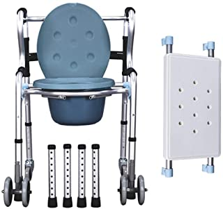 OLDHF Silla Baño Anciano Caminante Discapacitado Caminante ...