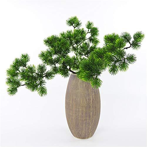 WEIHEEE Ramas de simulación, Ramas de Pino Artificial para decoración de Bodas, mesas, Plantas Verdes