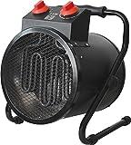 Garza Calefactor Industrial - termoventilador de exteriores portátil, potencia 3000W