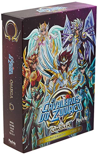 Os Cavaleiros Do Zodíaco - Ômega – 2ª Temporada - Box 5 - [DVD]