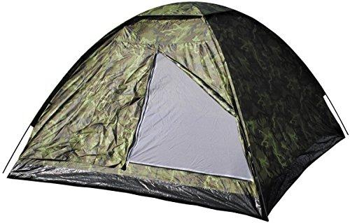 MFH3 Personen Zelt Monodom Campingzelt Bundeswehr BW 210x210x130cm Trekking (M 95 CZ tarn)