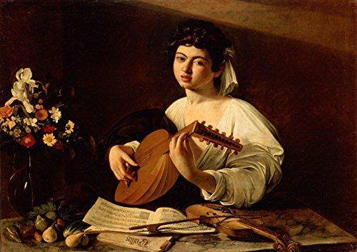 Michelangelo Merisi da Caravaggio: The Lute Player. Fine Art Print/Poster. Large Size A1 (84.1cm x 59.4cm)