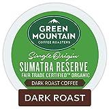Green Mountain Coffee Roasters Sumatran Reserve Keurig Single-Serve K-Cup pods, Dark Roast Coffee, 72 Count