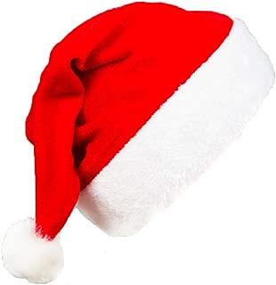 Cappello Babbo Natale musicale adulto 14 pollici Unisex Festa Di Natale Accessorio Costume