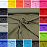 MAGAM-Stoffe Micha Interlock Jersey Uni 100% Baumwolle