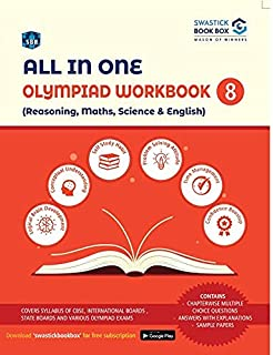 All in One - Olympiad Workbook for Reasoning, Maths, Science & English - Class 8 by Preeti Garg