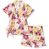 [ディズニー] ミニー 総柄 甚平 スーツ 女の子 ディズニー 甚平・浴衣 ピンク 日本 80 (日本サイズ80 相当)
