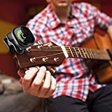 Immagine 2 finwell guitar tuner rechargeable clips