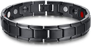 XUANPAI Elegant Magnetic Therapy Link Bracelet Wristband Pain Relief Arthritis,Free Link Removal Kit
