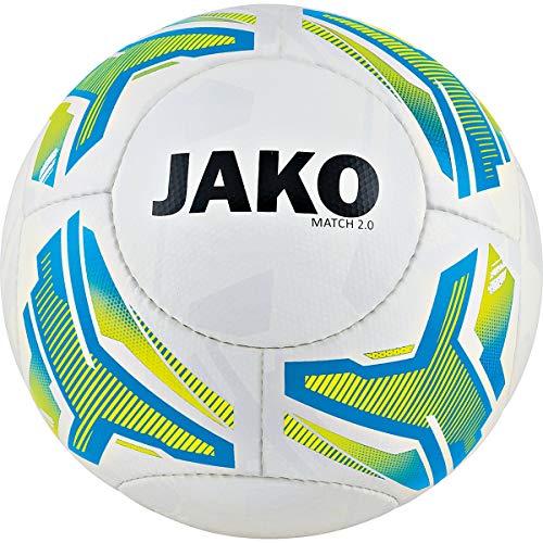 Jako Match 2.0 Lightball weiß/Neongelb/JAKO blau 4