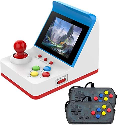 Anbernic Consolas de Juegos Portátil , Consolas de Juegos de Mano Arcade FC Handheld Game Console 3 Pulgadas 360 Classic Game Console , TV-Output Videojuegos Portátil with 2PCS Joystick – Azul