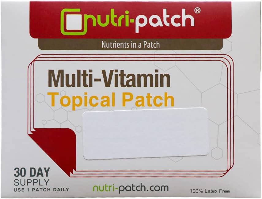 Multi-Nutrients in a Topical Skin Genuine 30 Nutri-Patch. Patch from Cheap SALE Start Da