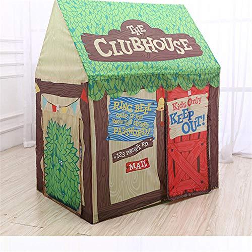 WZXHN Tragbares Spiel Kinderzelt Ball Zug Kletterzelt Junge Mädchen Schloss Prinzessin Indoor Outdoor Zelte Haus Klappspielzeug für Kinder-A