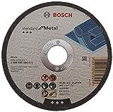 Bosch 2 608 603 166 - Disco de corte recto Standard for Metal - A 30 S BF, 125 mm, 22,23 mm, 2,5 mm (pack de 1)