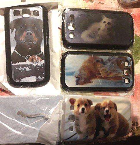CUSTODIA COVER CASE S PER SAMSUNG S2 S3 4 5 Mini Note 2 3 4 N910 I9082 2 Cani