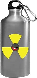 Radioactive Emoji Cool Creative Design - Water Bottle