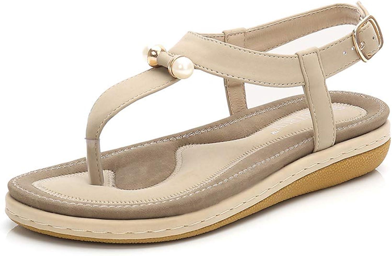 PFMY.DG Fashion Women's Single shoes, Summer Open Toe Comfortable Sandals, Lightweight, Non-Slip
