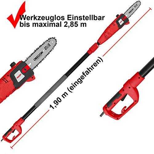 Hecht 975 W Elektro   Hochentaster   Astkettensäge - 3