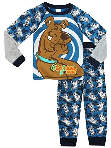 Scooby Doo Pigiama per Ragazzi Multicolore 9-10 Anni