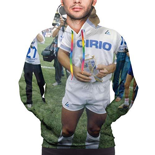 Tukiv Diego Mar-Adona Perfect Memorial - Sudadera con capucha para hombre, impresión digital 3D, ideal para viajes