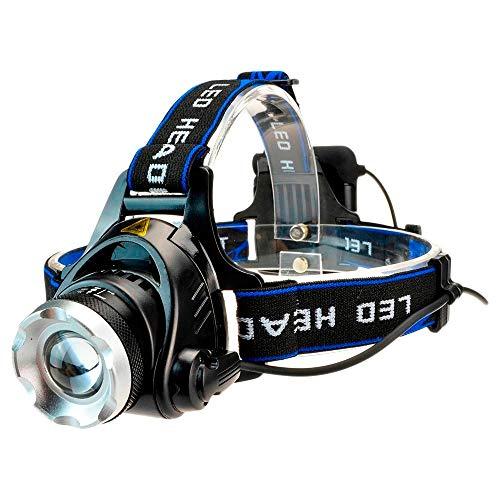 Luz de la cabeza Yunmai Power Led faro impermeable faro Cree t6 faro uso de la linterna