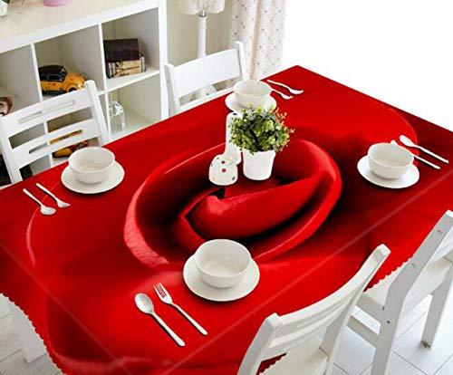 DTRGY Mantel navideno Cocina Comedor Mesa Decoraciones Hogar Rectangular Fiesta Cubiertas de Mesa Adornos navidenos 70x150cm 17