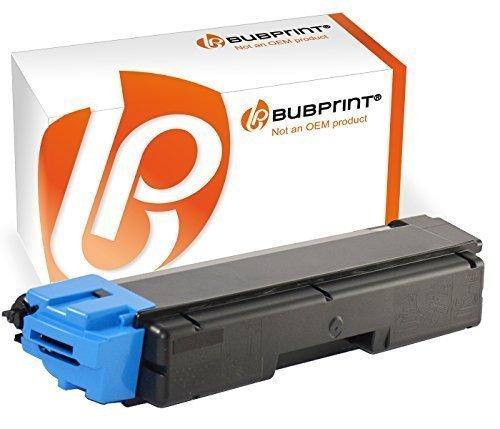 Bubprint Toner kompatibel für Kyocera TK-590C für Ecosys M6026cdn M6026cidn M6526cdn P6026cdn FS-C2026MFP FS-C2126MFP FS-C2626MFP FS-C5250DN Cyan
