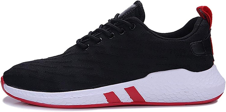 QIDI Laufschuhe für Herren, 2019 Frühling Sommer Neue Sportschuhe Mesh atmungsaktiv und bequem lssig Turnschuhe Jogging-Schuhe (Farbe   A, Größe   40)