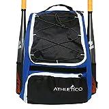 Best Baseball Backpacks - Athletico Baseball Bat Bag - Backpack for Baseball Review