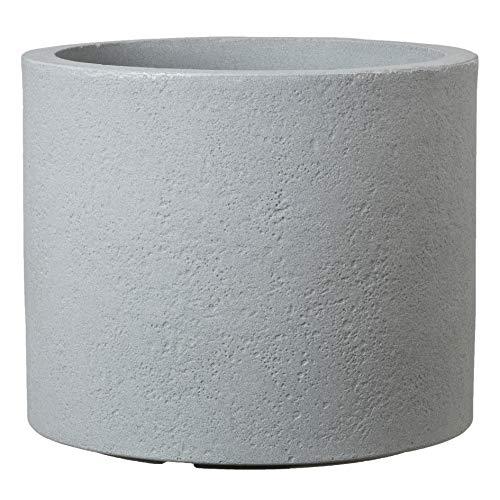 Preisvergleich Produktbild Scheurich Panzano Pflanzgefäß aus Kunststoff,  Stony Grey,  Ø 48 cm,  Höhe 41 cm
