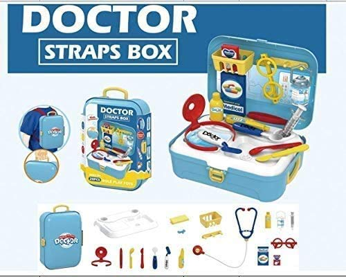 MEDca 20-Piece Doctor Kit for Kids - Pretend Play Medical Kit with Complete Doctor's Set Accessories in a Backpack - Educational Playset for Aspiring Doctors for Boys and Girls