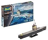 Revell Maqueta Submarino alemán Type XXIII, Kit Modello Escala 1:144 (5140) (05140), 24,2...
