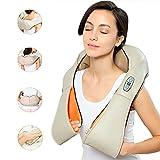 RR TLV-14974 Masajeador Electrico Cervical de Cuello Espalda con Calor Shiatsu