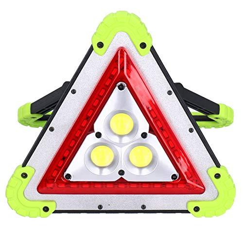 Langlebiges tragbares multifunktionales Licht Dreieckiges Leichtgewicht zum Bergsteigen zum Wandern und Zelten