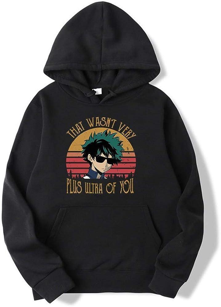 My Hero Academia Hoodie Sweatshirt Men and Women Harajuku Clothes