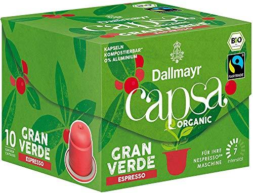 Dallmayr Capsa Gran Verde Espresso, 56 g