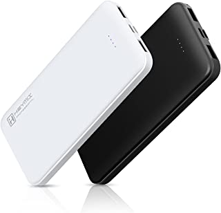 HEYMIX Power Bank 30000mAh(15000mAhx2) Portable USB Charger 2 Output & 2 Input Ports, 2-PACK Fast Charging External Batter...
