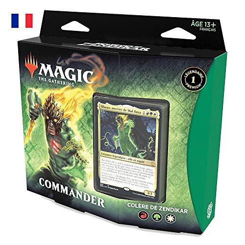 Magic: The Gathering Commander Renaissance Colère de Zendikar (Rouge-Vert-Blanc Deck)