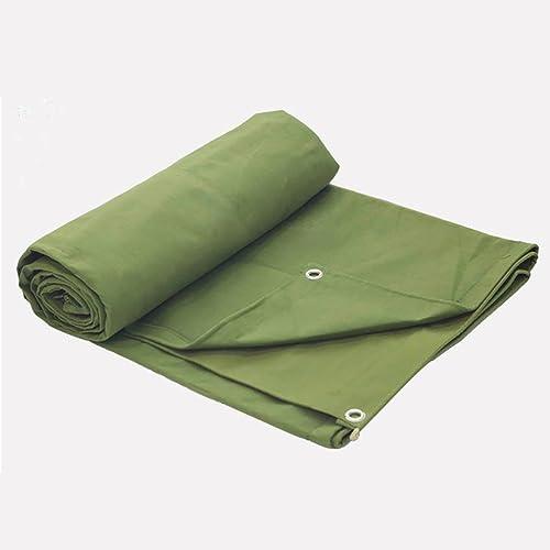 WSGZH Tissu De Pluie Vert, Toile Caoutchoutée, Crème Solaire Imperméable, Bache Anti-age, épaisseur 0.85mm, 650g   M2, 12 Tailles Disponibles