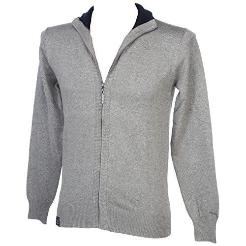Teddy Smith GENTY 2 Sweat-Shirt, Gris (Gris Chiné Moyen), XX-Large (Taille Fabricant: XXL) Homme