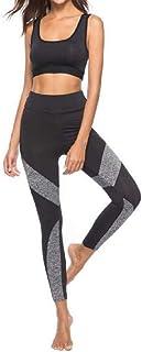 QUICKLYLY Yoga Mallas Leggins Pantalones Mujer,Nueva Costura De Las Polainas De Las Mujeres Deportes Ocasionales Pantalones De Yoga Pantalones De Lápiz