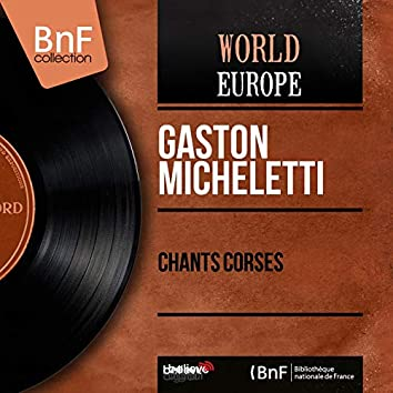 Chants corses (feat. Trio Agostini) [Mono Version]